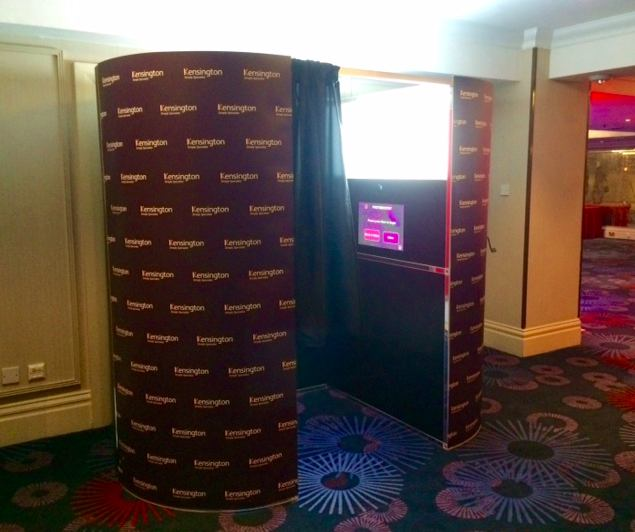 Corporate photo booth rental in London