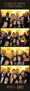 Photo booth hire London - WACL - A night with The Stars